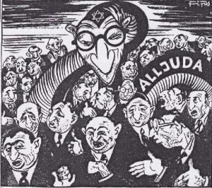 La garra del capitalismo judío